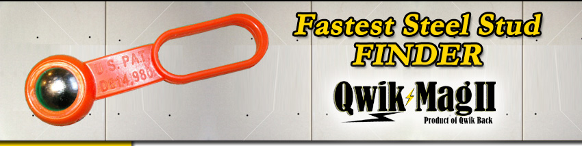 Fastest Magnetic Stud Finder Banner